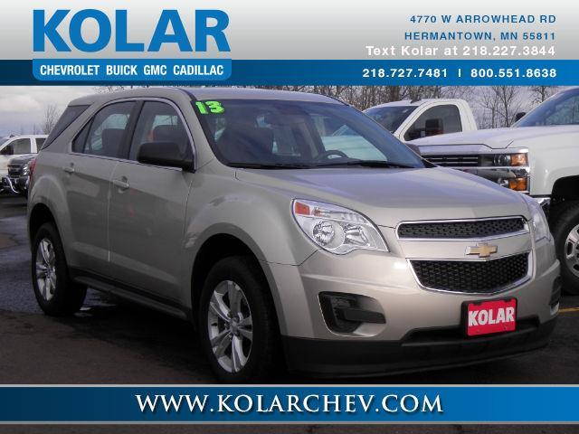 2013 chevrolet equinox ls ls 4dr suv for sale in duluth minnesota classified. Black Bedroom Furniture Sets. Home Design Ideas