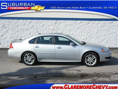 2013 chevrolet impala 4 dr sedan ltz for sale in claremore. Black Bedroom Furniture Sets. Home Design Ideas