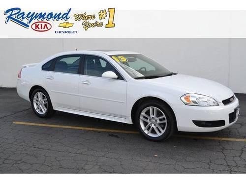 Raymond Chevrolet Antioch Illinois >> 2013 Chevrolet Impala 4dr Car LTZ for Sale in Antioch ...