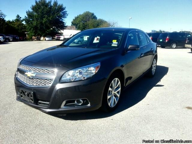 2013 chevrolet malibu ltz sedan for sale in ardmore oklahoma classified. Black Bedroom Furniture Sets. Home Design Ideas
