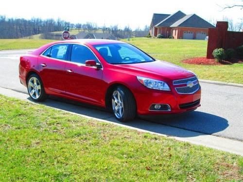 2013 chevrolet malibu sedan ltz for sale in williamstown. Black Bedroom Furniture Sets. Home Design Ideas