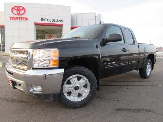 2013 chevrolet silverado 1500 lt 4x4 lt 4dr extended cab 6 5 ft sb for sale in sioux city iowa. Black Bedroom Furniture Sets. Home Design Ideas