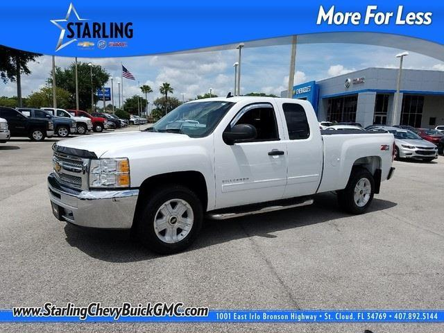 2013 chevrolet silverado 1500 lt 4x4 lt 4dr extended cab 6 5 ft sb for sale in saint cloud. Black Bedroom Furniture Sets. Home Design Ideas