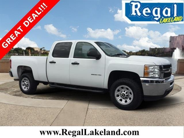 2013 chevrolet silverado 2500hd work truck 4x2 work truck 4dr crew cab sb for sale in lakeland. Black Bedroom Furniture Sets. Home Design Ideas