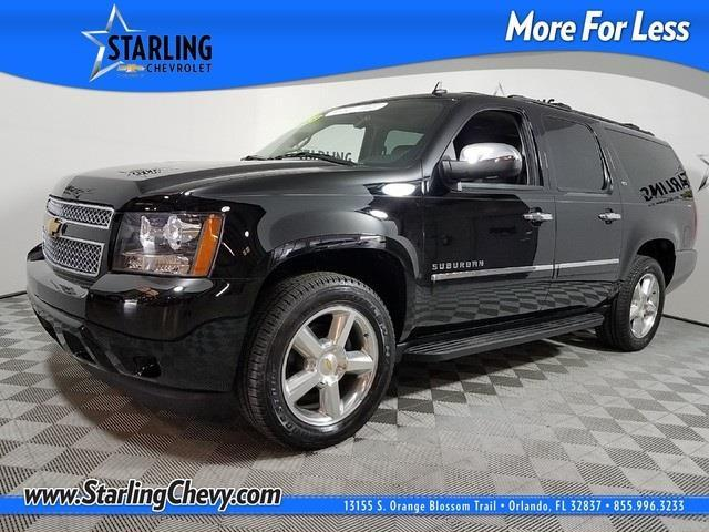 2013 chevrolet suburban ltz 1500 4x2 ltz 1500 4dr suv for sale in orlando florida classified. Black Bedroom Furniture Sets. Home Design Ideas