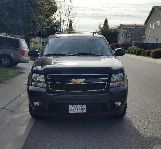 2013 Chevrolet Tahoe Ltz For Sale: 2013 CHEVROLET TAHOE LT , FLEX FUEL, CLEAN TITLE, BLACK ON