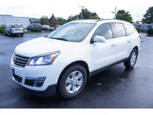 2013 Chevrolet Traverse Crossover Awd Lt For Sale In