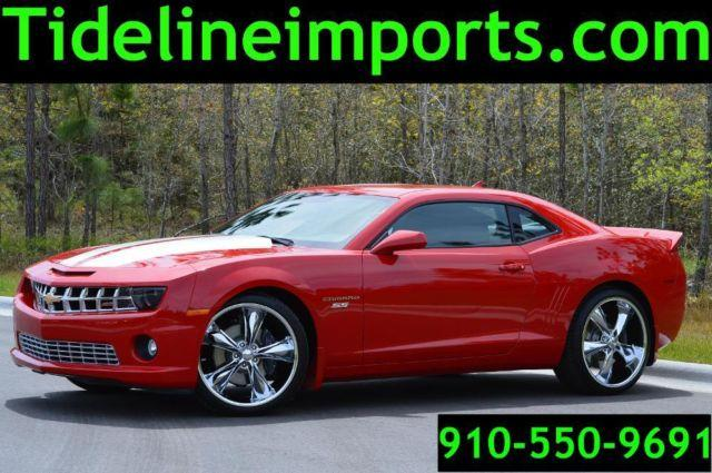 2013 Chevy Camaro Ss Only 1300 Miles Super Nice Red For