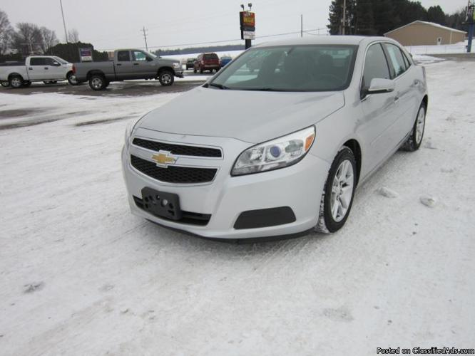 2013 chevy malibu lt for sale in edmore michigan classified. Black Bedroom Furniture Sets. Home Design Ideas
