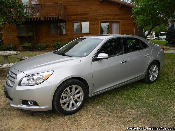 2013 chevy malibu ltz silver 8k miles for sale in atascosa texas classified. Black Bedroom Furniture Sets. Home Design Ideas
