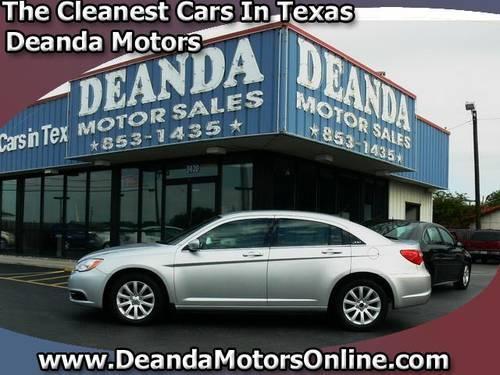 2013 chrysler 200 4dr car touring for sale in mcallen for Burns motors mcallen texas