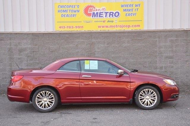 2013 chrysler 200 convertible limited limited 2dr convertible for sale in chicopee. Black Bedroom Furniture Sets. Home Design Ideas