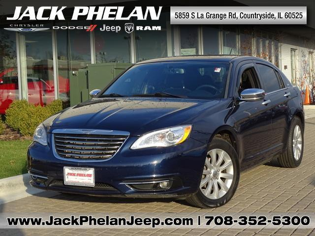 2013 Chrysler 200 Limited Limited 4dr Sedan