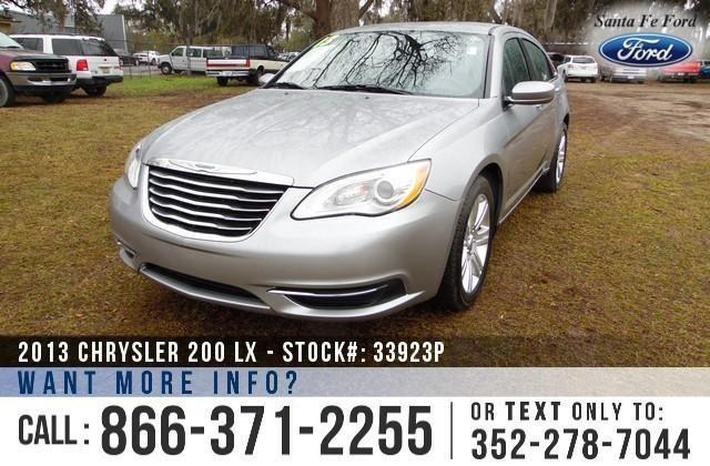 2013 Chrysler 200 LX - 47K Miles - Finance Here!