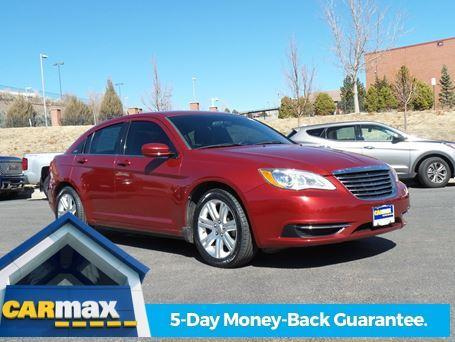 2013 Chrysler 200 LX LX 4dr Sedan