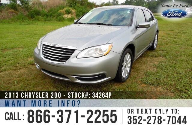 2013 Chrysler 200 Touring - 43K Miles - Finance Here!