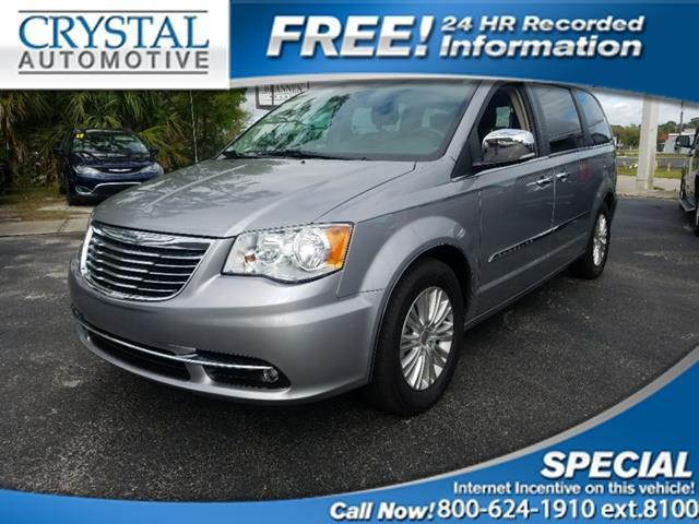 2013 chrysler town and country touring l touring l 4dr mini van for sale in brooksville florida. Black Bedroom Furniture Sets. Home Design Ideas