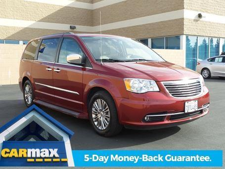 2013 chrysler town and country touring l touring l 4dr mini van for sale in sacramento. Black Bedroom Furniture Sets. Home Design Ideas