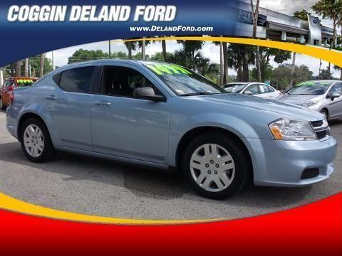 2013 DODGE AVENGER 4 DOOR SEDAN
