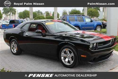 2013 dodge challenger coupe 2dr cpe sxt plus coupe for sale in west palm beach florida. Black Bedroom Furniture Sets. Home Design Ideas