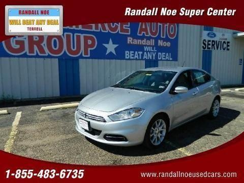 Randall Noe Dodge >> 2013 DODGE DART 4 DOOR SEDAN for Sale in Commerce, Texas ...