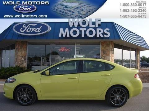 2013 Dodge Dart 4 Door Sedan For Sale In Jordan Minnesota