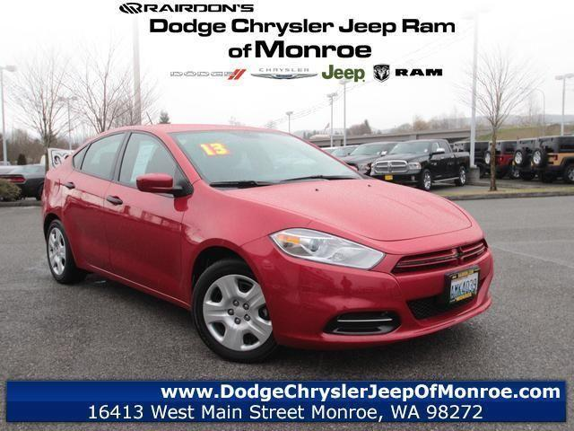 2013 dodge dart 4d sedan se aero for sale in monroe. Black Bedroom Furniture Sets. Home Design Ideas