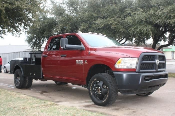 Texas Diesel Trucks For Sale >> 2013 Dodge Ram 3500 4WD CrewCab Flatbed Diesel for Sale in Grand Prairie, Texas Classified ...