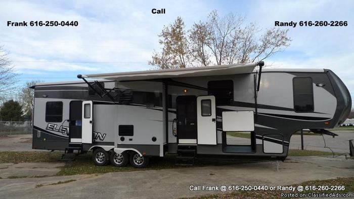 2013 Elevation Toy Hauler Fifth Wheel By Crossroads Rv For