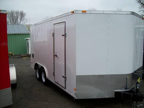 2013 ENCLOSED CARGO TRAILER 8.5X16