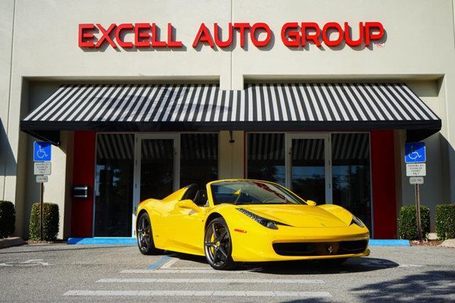 2013 Ferrari 458 Spider Base 2dr Convertible