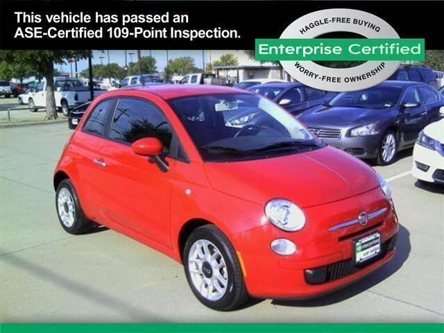 2013 fiat 500 2dr hb pop for sale in arlington texas classified. Black Bedroom Furniture Sets. Home Design Ideas