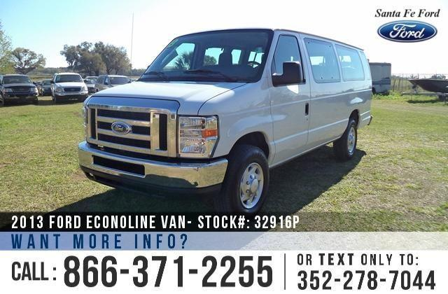 2013 Ford Econoline Van Super Duty - 5th Row Seating -