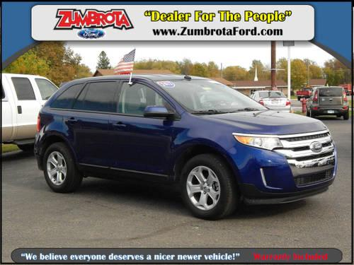 2013 ford edge crossover awd sel for sale in zumbrota minnesota classified. Black Bedroom Furniture Sets. Home Design Ideas