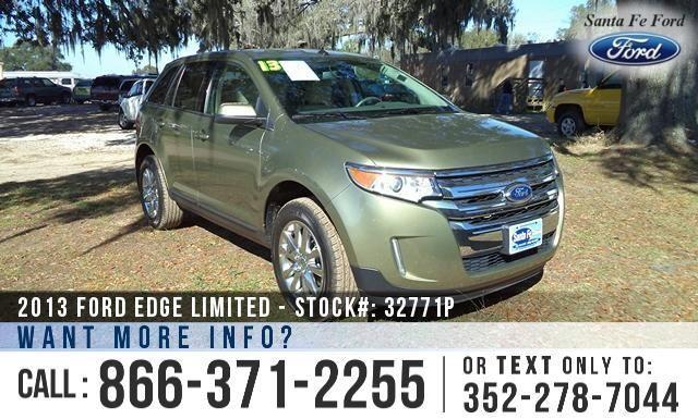 2013 Ford Edge Limited - Leather Interior - Sony Sound