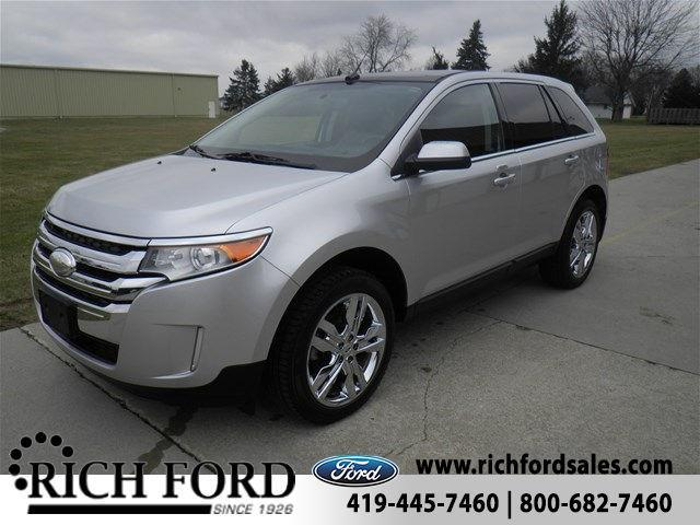 2013 ford edge limited limited 4dr suv for sale in archbold ohio classified. Black Bedroom Furniture Sets. Home Design Ideas