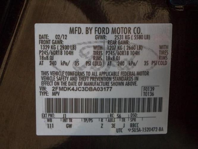 2013 Ford Edge SEL AWD SEL 4dr SUV