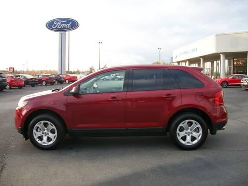 2013 ford edge sel red tan 18k miles for sale in alexander city alabama classified. Black Bedroom Furniture Sets. Home Design Ideas