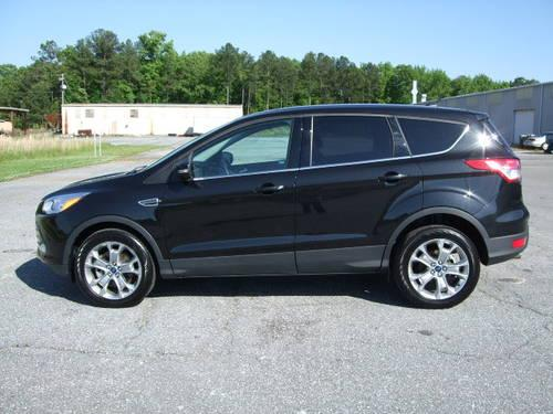 2013 Ford Escape Sel Black Charcoal Leather New Body