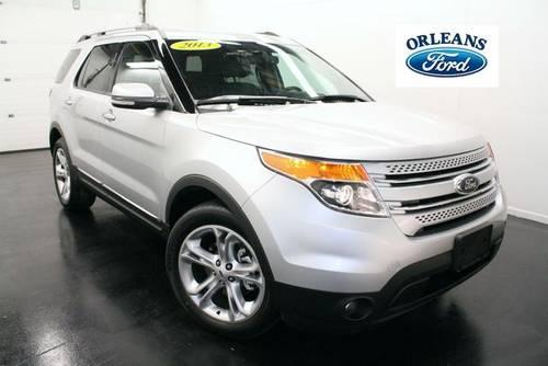 2013 ford explorer 4d sport utility limited for sale in medina new. Cars Review. Best American Auto & Cars Review
