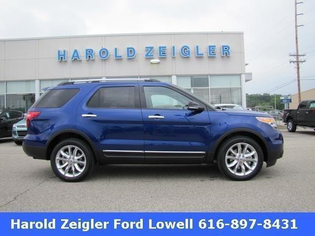 2013 Ford Explorer 4wd 4dr Xlt For Sale In Plainwell
