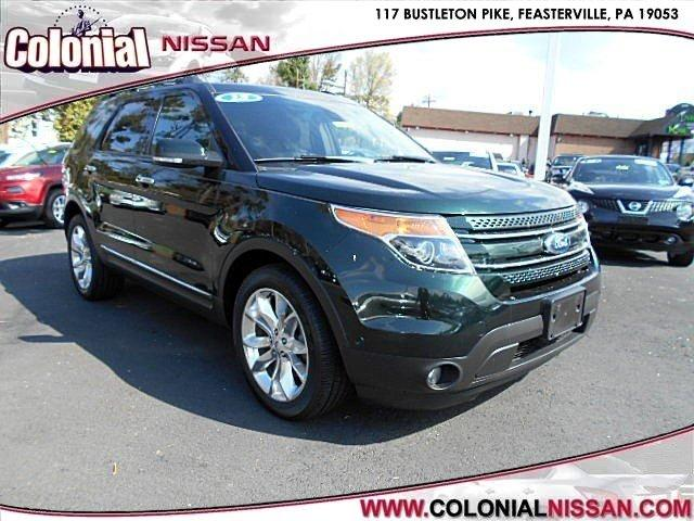 2013 ford explorer awd limited 4dr suv for sale in langhorne pennsylvania classified. Black Bedroom Furniture Sets. Home Design Ideas