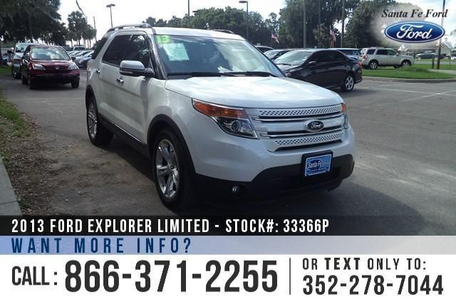 2013 Ford Explorer Limited 32K Miles - On-site