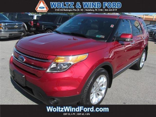 2013 ford explorer limited awd limited 4dr suv for sale in carnegie pennsylvania classified. Black Bedroom Furniture Sets. Home Design Ideas