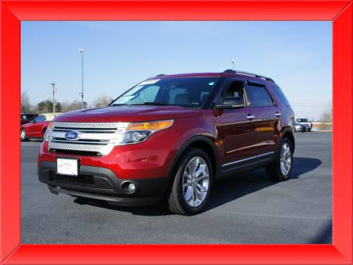 2013 ford explorer suv 2wd xlt for sale in lexington north carolina classified. Black Bedroom Furniture Sets. Home Design Ideas