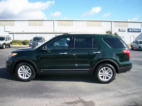 2013 Ford Explorer Xlt Dark Green Black 26k Miles For Sale
