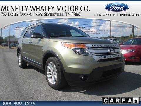 2013 ford explorer xlt sevierville tn for sale in pigeon forge tennessee classified. Black Bedroom Furniture Sets. Home Design Ideas