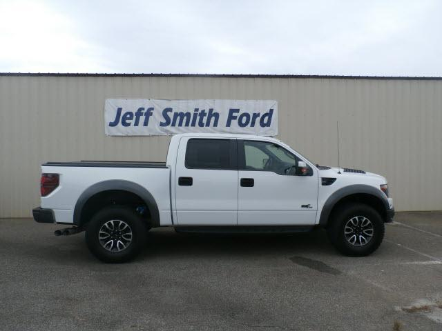 2013 FORD F-150 4x4 SVT Raptor 4dr SuperCrew Styleside