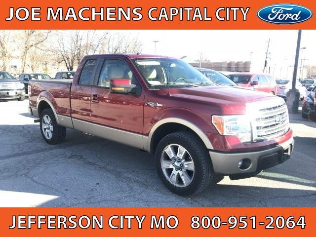 2013 ford f 150 lariat 4x2 lariat 4dr supercab styleside 6 5 ft sb for sale in jefferson city. Black Bedroom Furniture Sets. Home Design Ideas