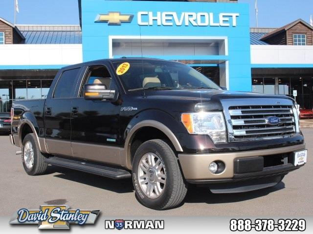 2013 ford f 150 lariat 4x2 lariat 4dr supercrew styleside 5 5 ft sb for sale in norman. Black Bedroom Furniture Sets. Home Design Ideas